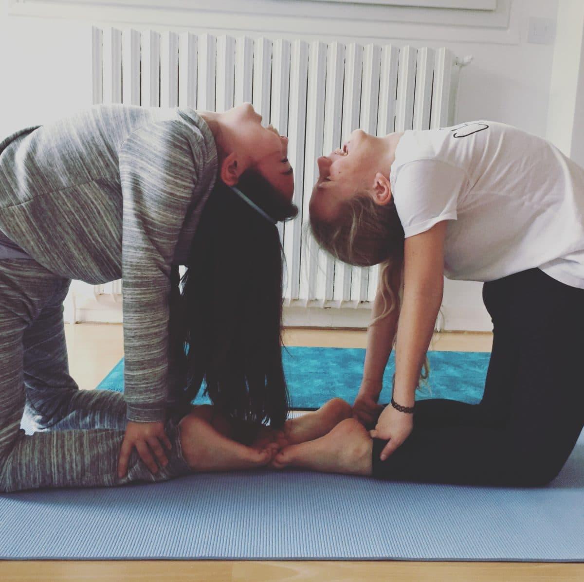 cours de yoga famille enfant parent Meudon Chaville