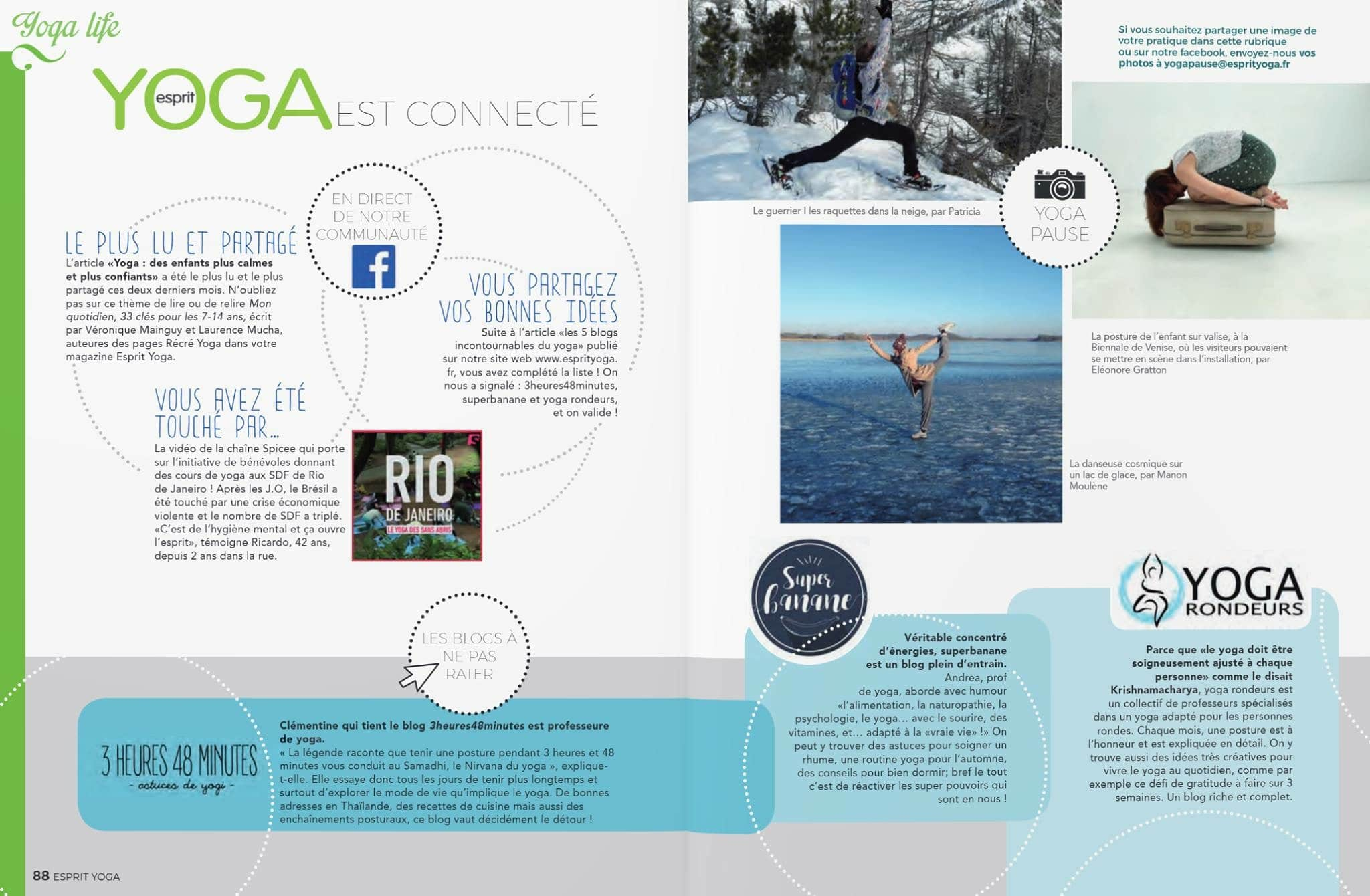 Superbanane sans Esprit Yoga magazine