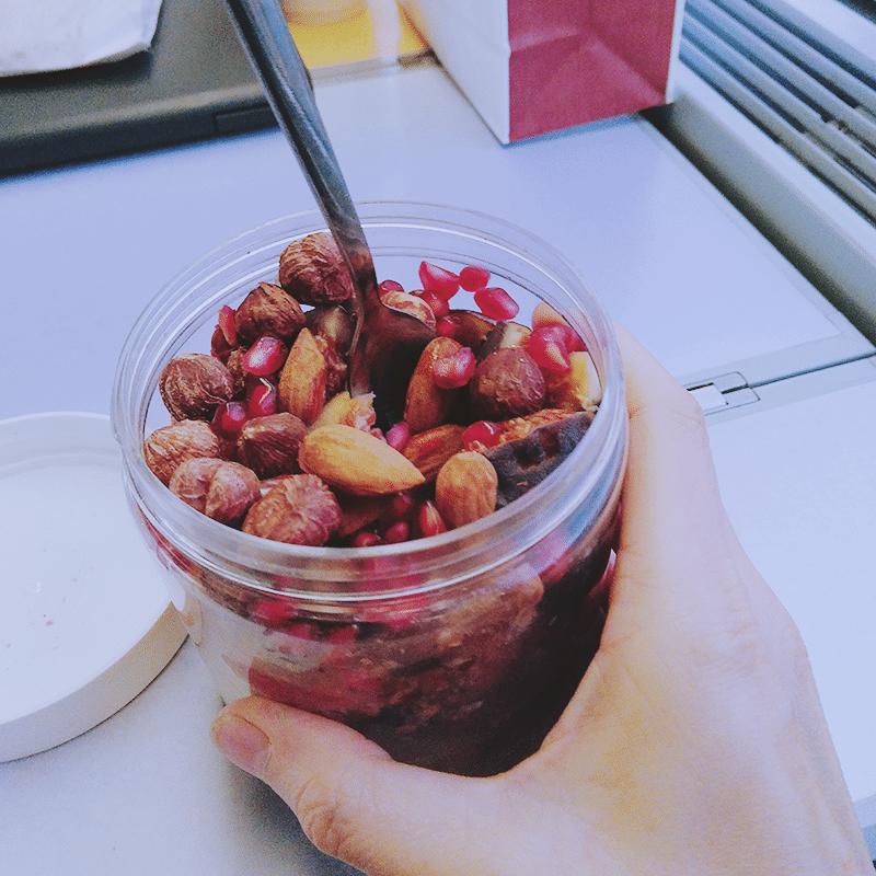 miam aux fruits petit déjeuner sain naturopathie acide gras